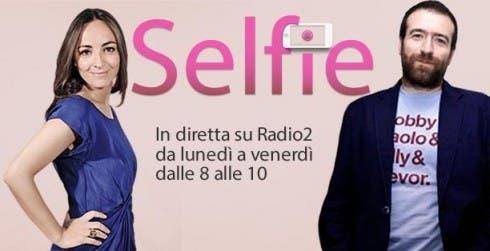 Selfie - Camila Raznovich e Michele Dalai
