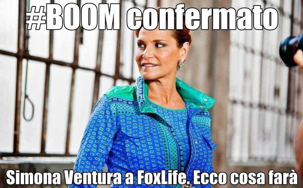 Simona Ventura a FoxLife per Il Contadino Cerca Moglie
