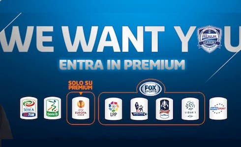 Premium Calcio, Fox Sports e Eurosport