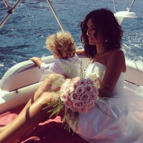 Caterina Balivo - sposa