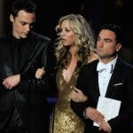Jim Parsons, Kaley Cuoco e Johnny Galecki