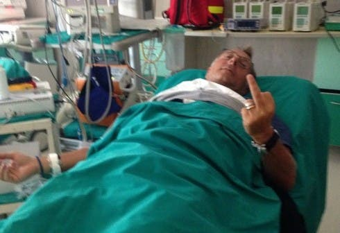 Paolo Bonolis in ospedale