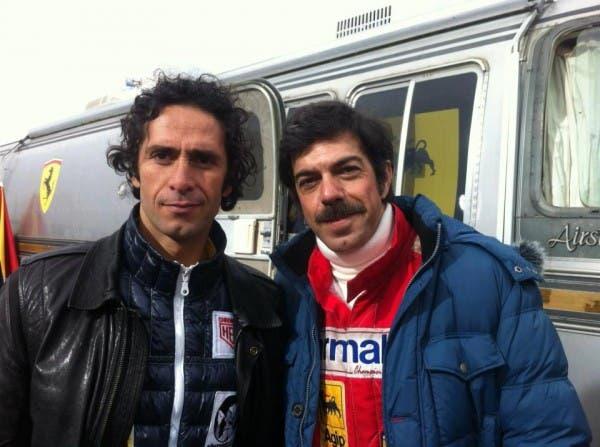 Cristian Stelluti e Pierfrancesco Favino - gli italiani nel cast di Rush