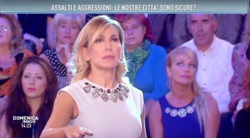 Barbara D'Urso - Prima puntata Domenica Live 2014/2015