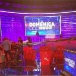 Lo studio di Domenica Live 2014/2015