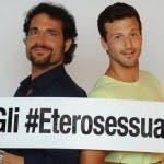 Gli Eterosessuali Luca Betti e Michael Lewis