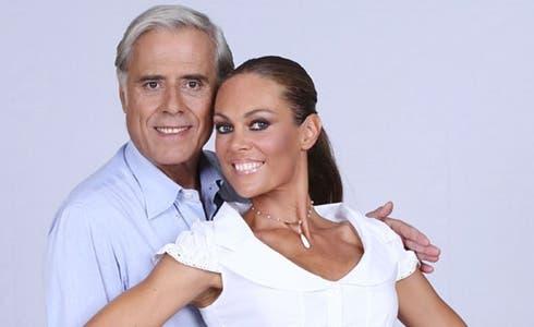 Teo Teocoli e Natalia Titova