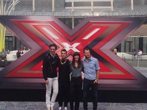 Mika, Fedez, Cabello e Cattelan alla conferenza di X Factor 8