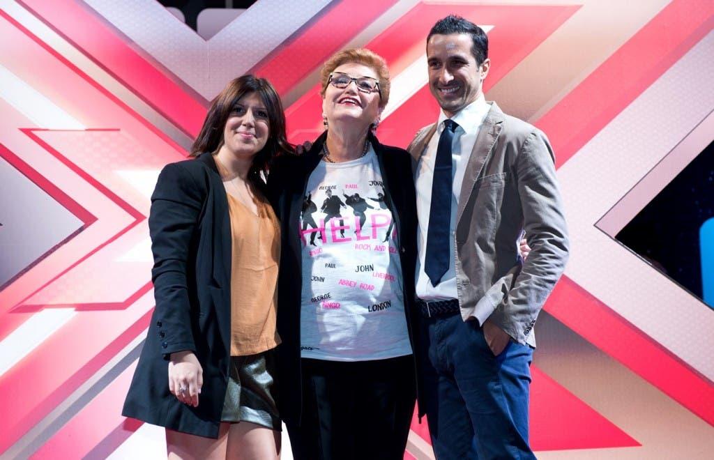 Daniela Collu (Stazzitta), Mara Maionchi e Davide Camicioli
