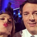 Barbara D'Urso, Matteo Renzi