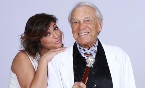 Elena Coniglio e Giorgio Albertazzi