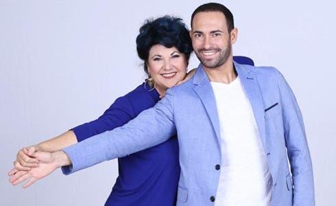 Marisa Laurito e Stefano Oradei