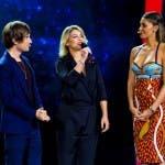 Tú sí que vales - Francesco Sole e Belen Rodriguez accolgono Emma in studio