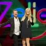 Zelig 2014 - Michelle Hunziker con Rocco Papaleo