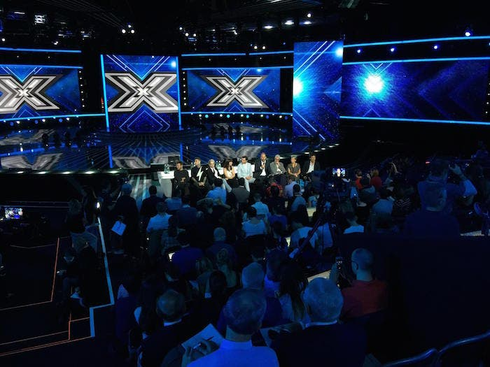XF8 - conferenza stampa live