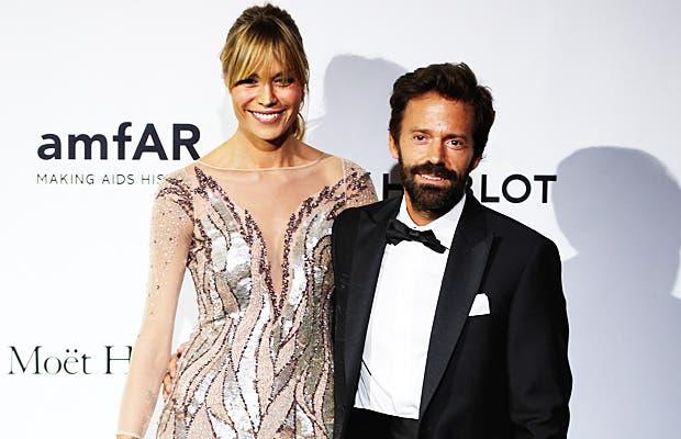 Sebastiano Lombardi con la moglie Eleonoire Casalegno