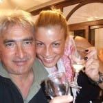 Emma e il padre Rosario