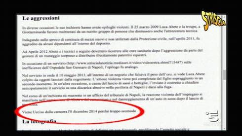 a0d39cc4b7 Luca Abete: per Wikipedia ucciso dalla camorra | DavideMaggio.it