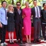 The Big Bang Theory Kaley-Cuoco-Hollywood-Walk-Of-Fame