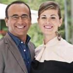 carlo-conti E VANESSA INCONTRADA A SANREMO