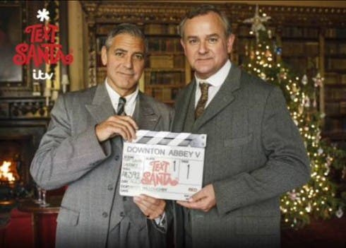 George Clooney - Downton Abbey