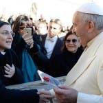 Suor Cristina, Papa Francesco