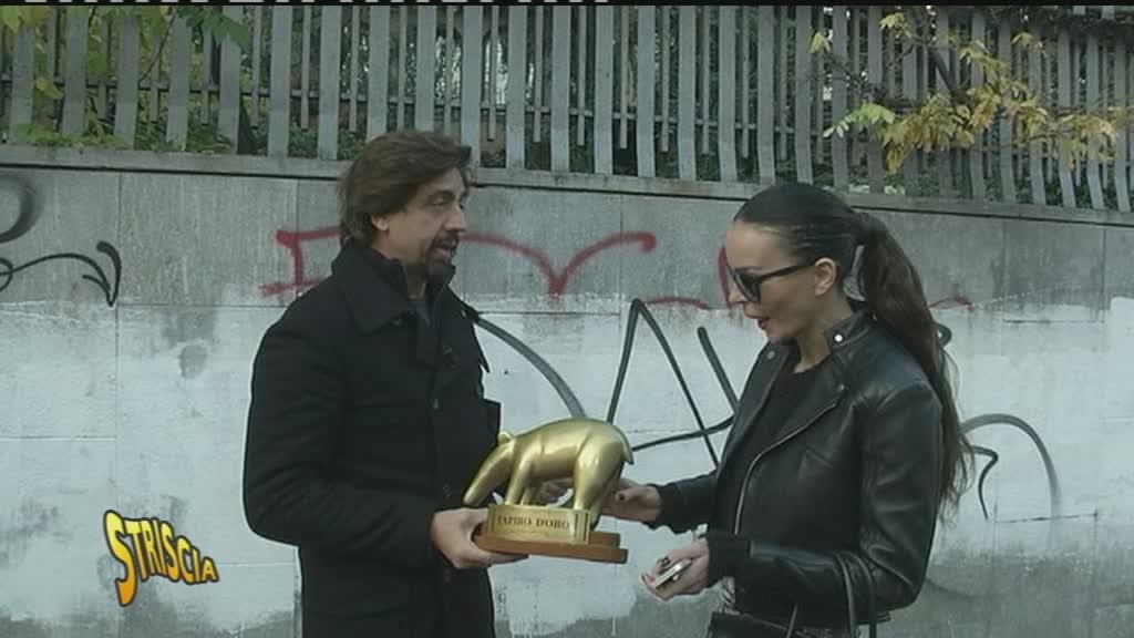 Tapiro a Nina Moric per lite con Perego