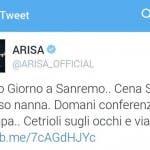 Arisa - Twitter
