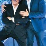 Gerry scotti con il figlio lo show dei record
