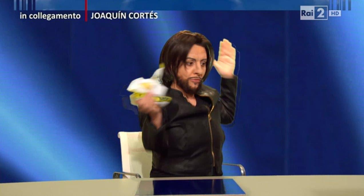 Joaquin Cortes (Lucia Ocone) - Quelli che il Calcio