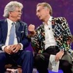 le iene presentano scherzi a parte Bonolis e Renzi