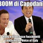 Roby e Francesco Facchinetti coach di The Voice of Italy