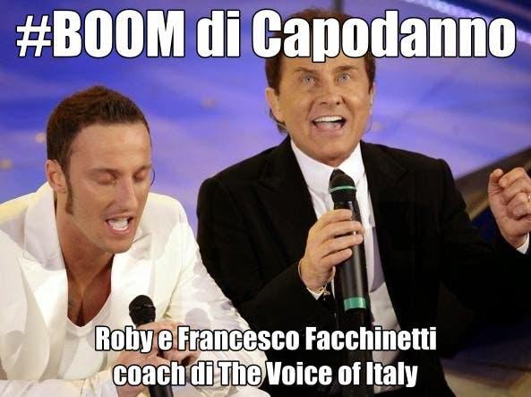 Roby e Francesco Facchinetti coach di The Voice of Italy