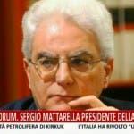 Sergio Mattarella Presidente della Repubblica