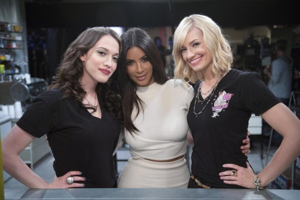 2 Broke Girls 4 - Kim Kardashian