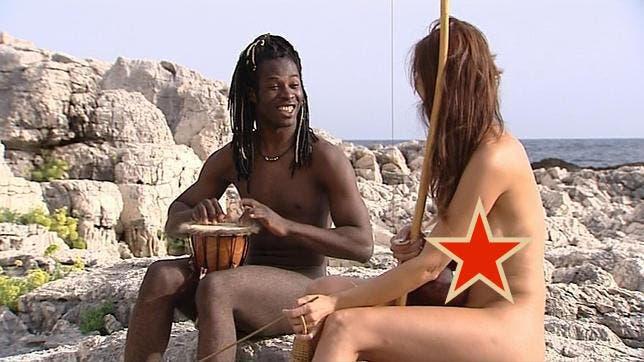 Playa Desnuda Cecilia E Brice Nudi Isola Dei Famosi 2015