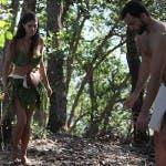 """Cecilia Rodriguez e Brice Martinet """"nudi"""""""