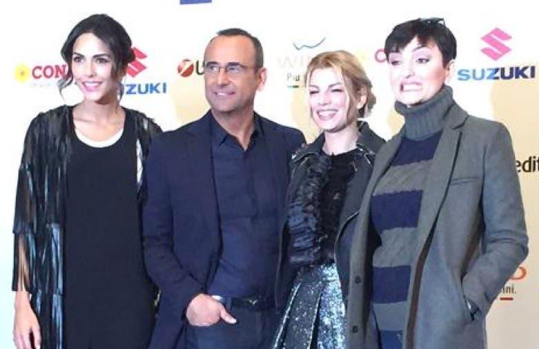 Festival di Sanremo 2015 - Rocio, Conti, Emma e Arisa