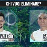 Isola dei Famosi 2015 - Valerio Scanu e Patrizio Oliva - televoto