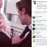 Emma su Instagram insieme al suo stilista Francesco Scognamiglio