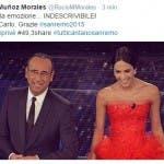 Rocio ringrazia il pubblico su Twitter