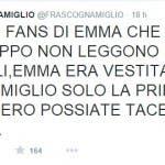 Il tweet di Francesco Scognamiglio