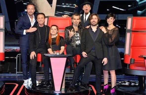 The Voice - il cast