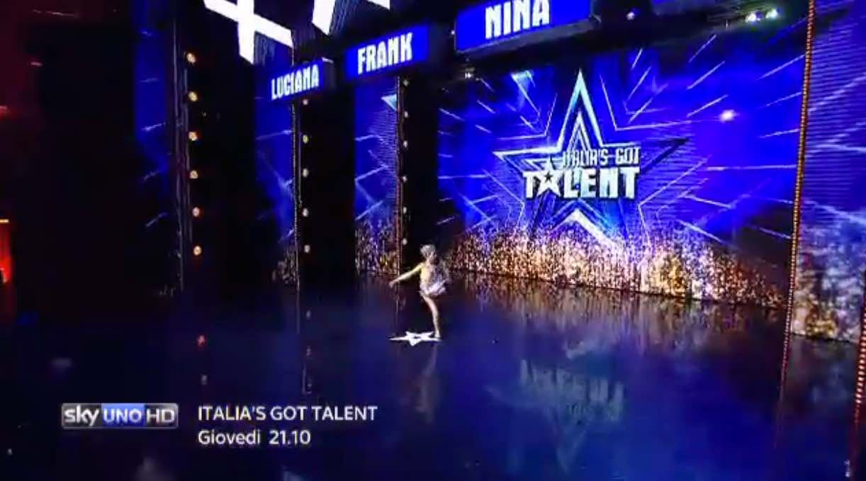 Italia's Got Talent - ballerina sorda