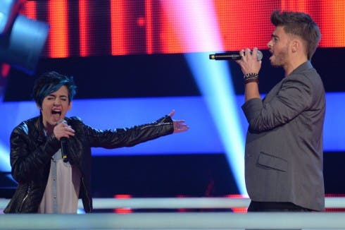The Voice of Italy - battle