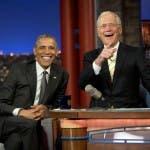 Obama e David Letterman