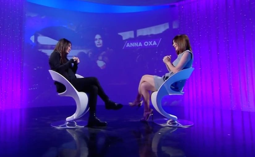Anna Oxa e Silvia Toffanin