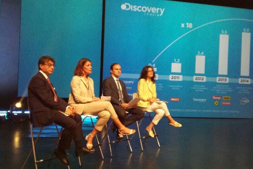 Discovery Italia - Presentazione Palinsesti 2015
