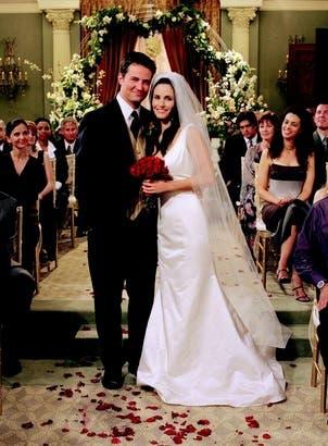 Friends - Monica e Chandler Sposi