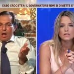 In Onda, Crocetta vs Barra